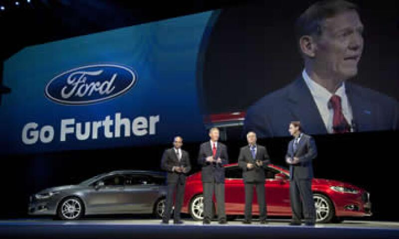 El evento fue diseñado para mostrar a los atribulados distribuidores europeos de Ford que la empresa posee atractivos vehículos. (Foto: AP)