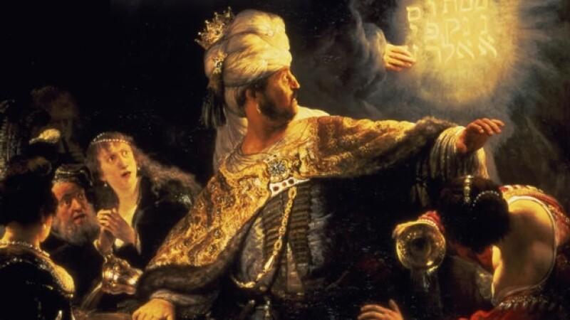 la fiesta de belshazzar