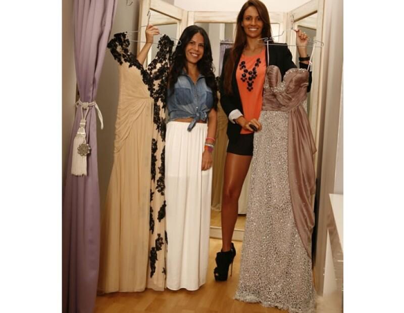 Myrellis André y Paola Morán nos abrieron las puertas de su showroom, donde tienen varias propuestas para lucir espectacular sin tener que gastar una millonada.