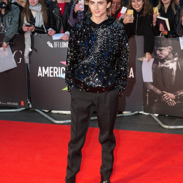 'The King' Premiere - 63rd BFI London Film Festival American Airlines Gala