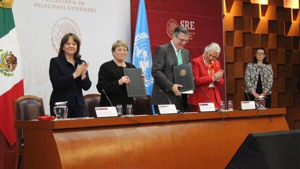 Bachelet SRE Ayotzinapa