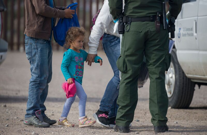 Record Number Of Migrants Stream Across U.S. Border, Straining Resources