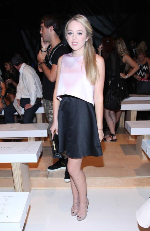 Tiffany es fan de asistir a los mejores eventos de moda en Nueva York.