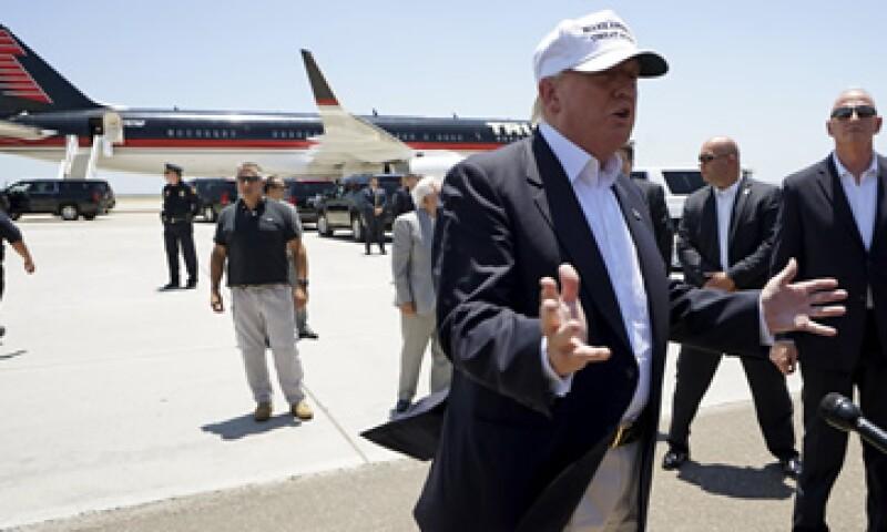 Donald Trump también posee un avión privado Cessna Citation X diseñado para 12 pasajeros. (Foto: Reuters)