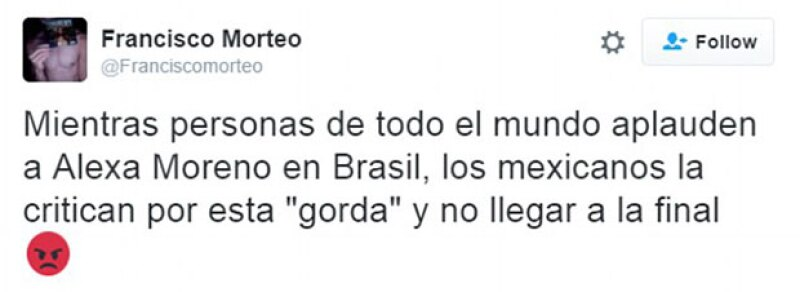 Miles de usuarios, criticaron las ofensas a la mexicana.
