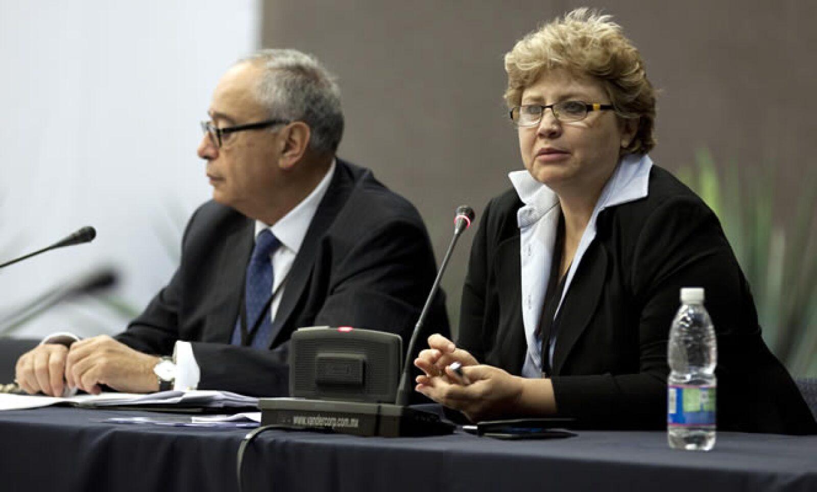 La Vicepresidenta Editorial de Grupo Expansión, Rossana Fuentes Berain, participó en uno de los foros de la cumbre