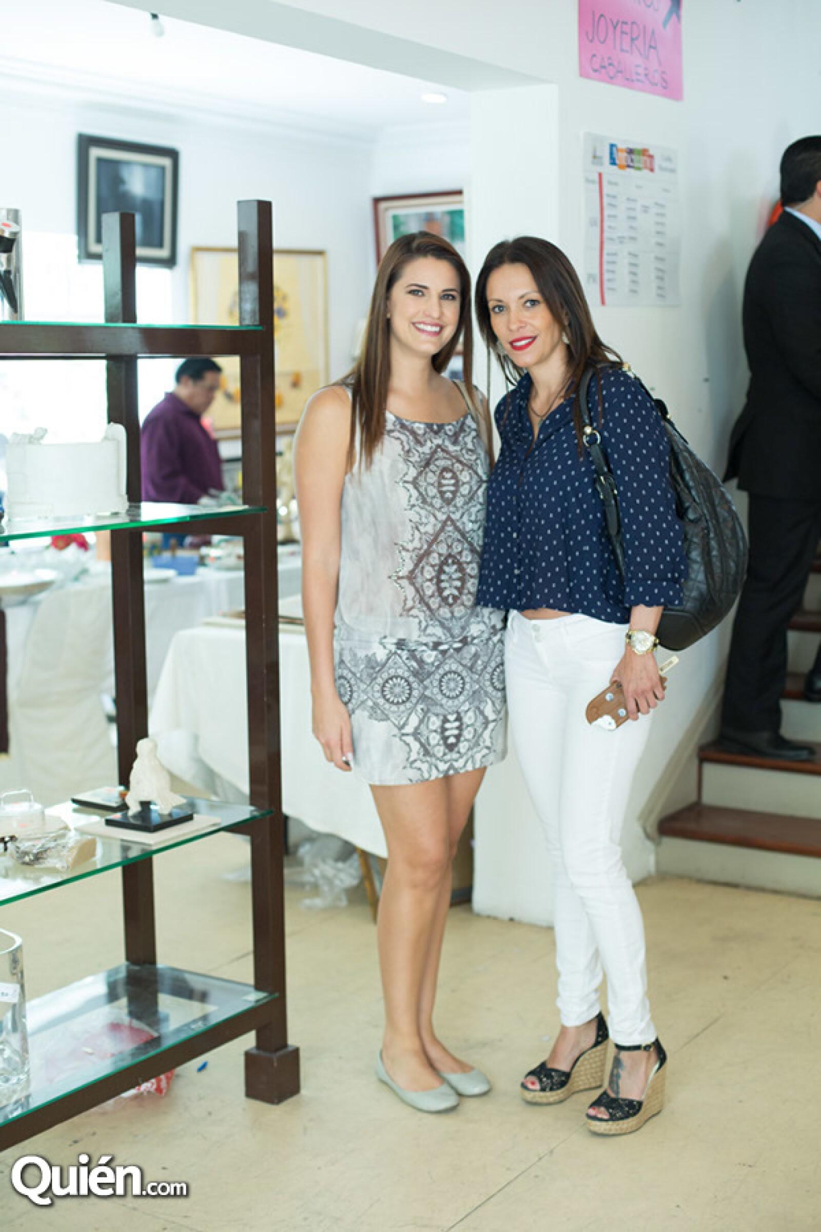 Natalia Pérez y Ana Zaleta