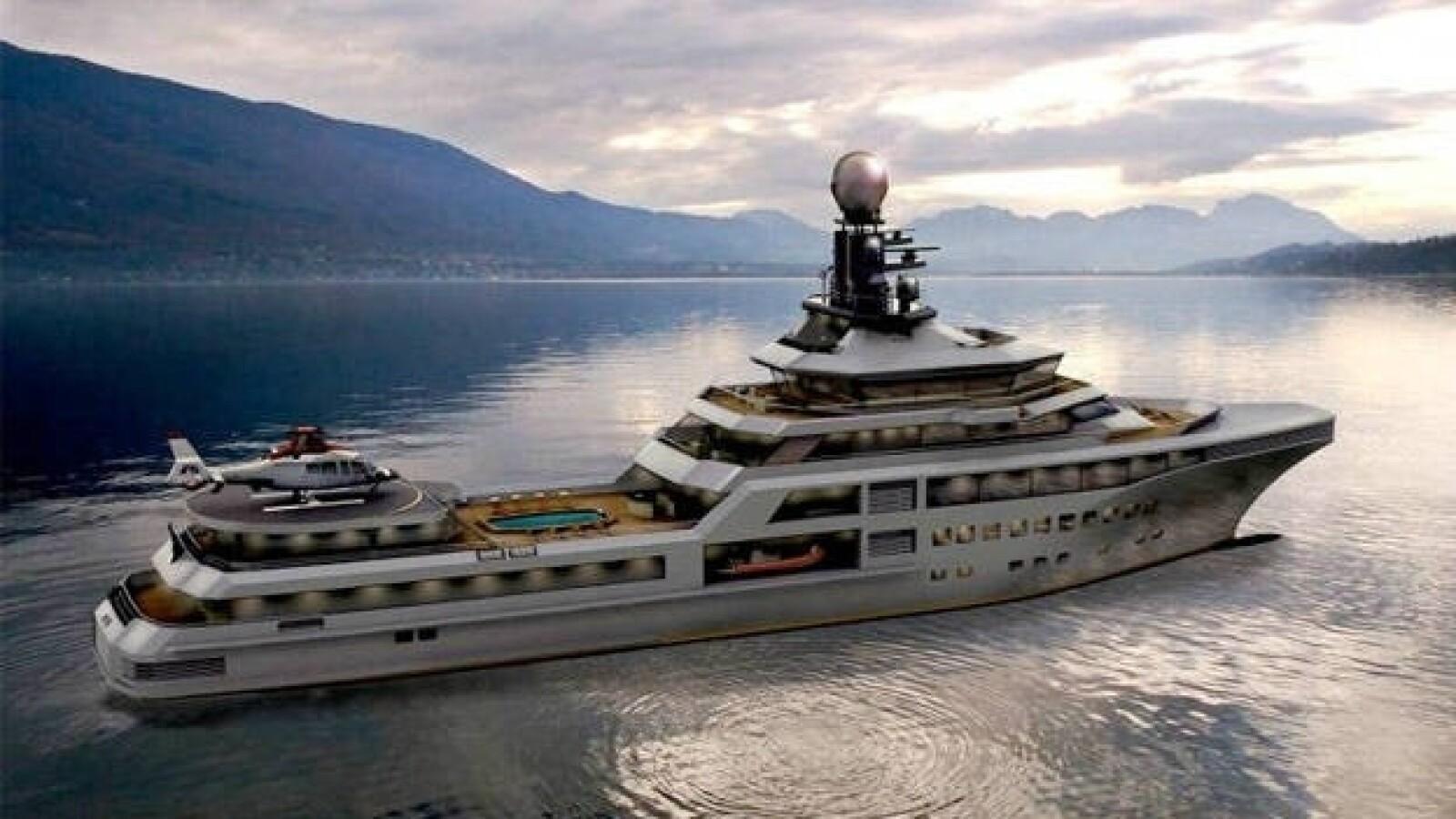yate super pj world noruega embarcacion barco lujo