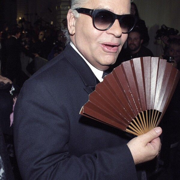 Karl Lagerfeld at the CFDA Awards, New York