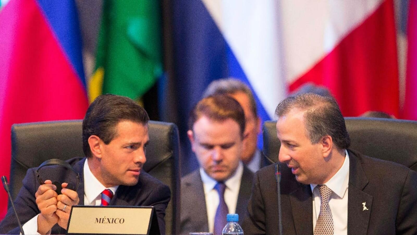Presidente y Canciller de México