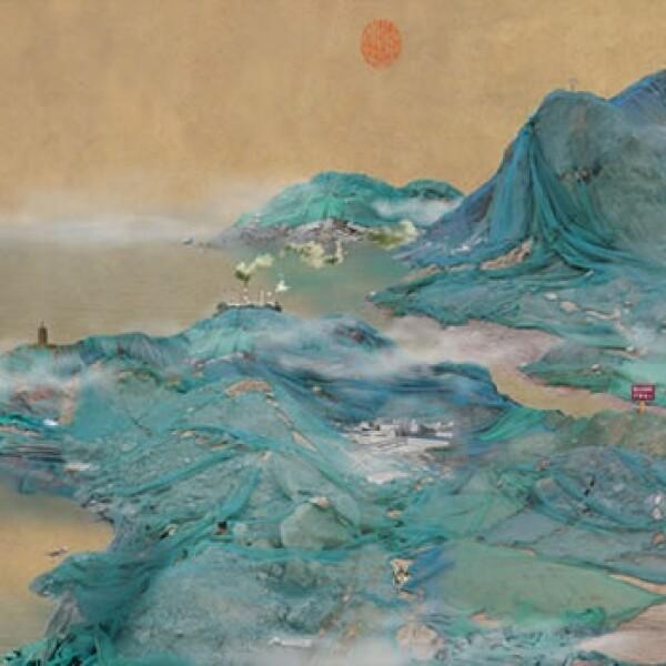 paisajes China basura