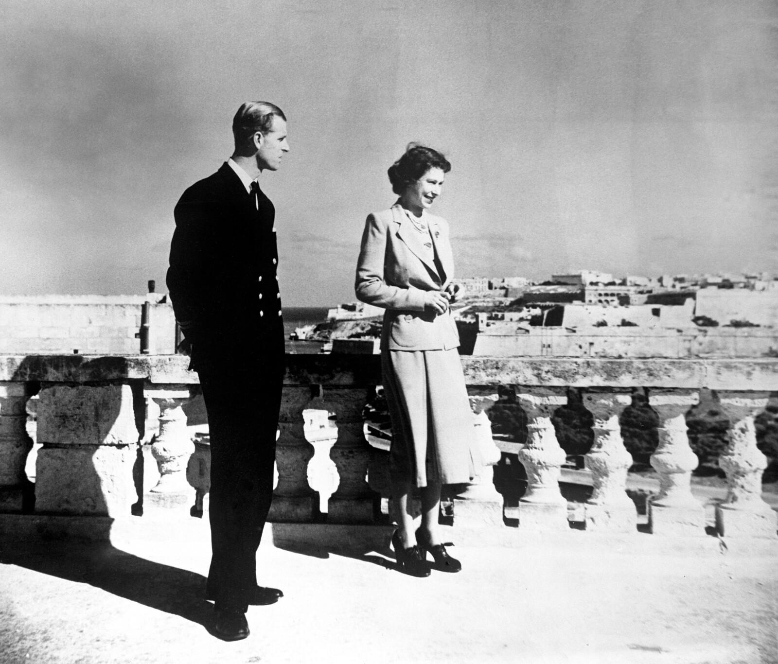 Isabel y Felipe en Malta