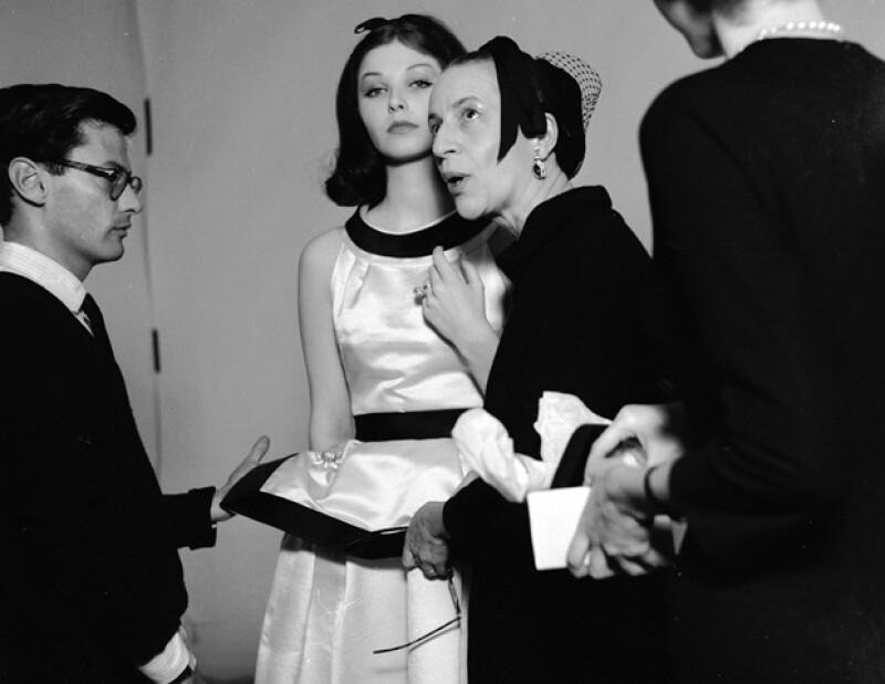 Diana Vreeland fue la editora de Harper's Bazaar de 1936 a 1962 y de 1963 a 1971 fue la Editor in Chief de Vogue.