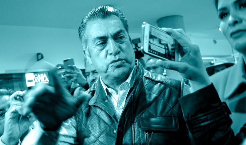 """Jaime Rodríguez """"El Bronco"""" fue nombrado candidato pese a carecer de firmas validadas por el INE."""