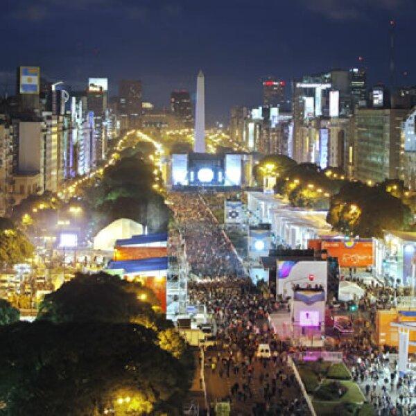 Nuevo pase Bicentenario EFE desfile argentina