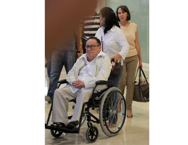 Marcela Gómez Fernández dijo que no hay necesidad que el actor viaje a la capital ya que en Cancún tiene una mejor vida gracias al clima y altura.
