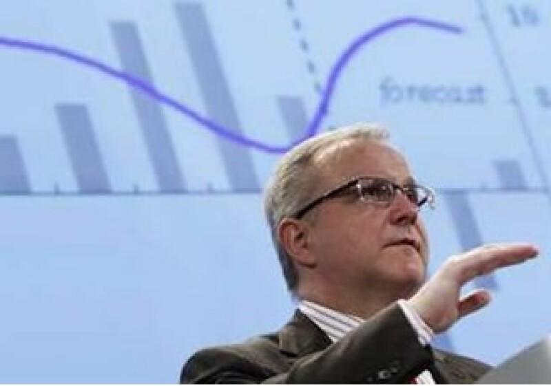 Olli Rehn, comisionado de la UE para Europa rechazó que se esté preparando algún rescate para España. (Foto: Reuters)