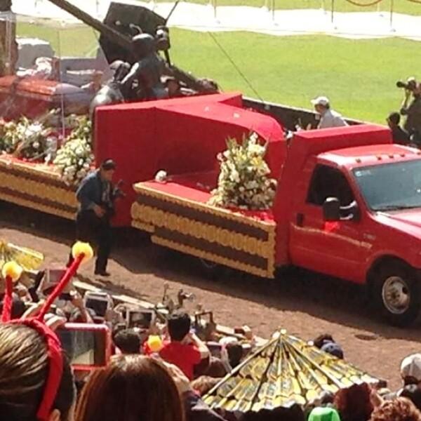chespirito homenaje estadio azteca 11
