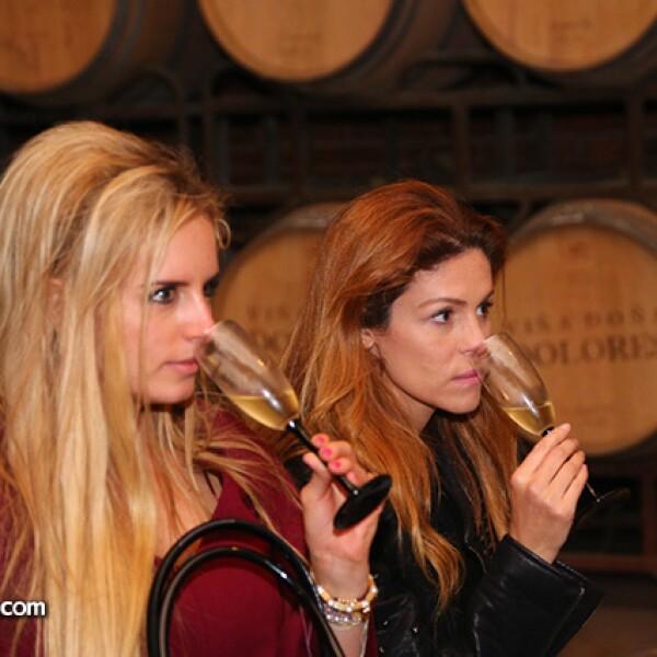 Tania Ruiz y Michelle Torres