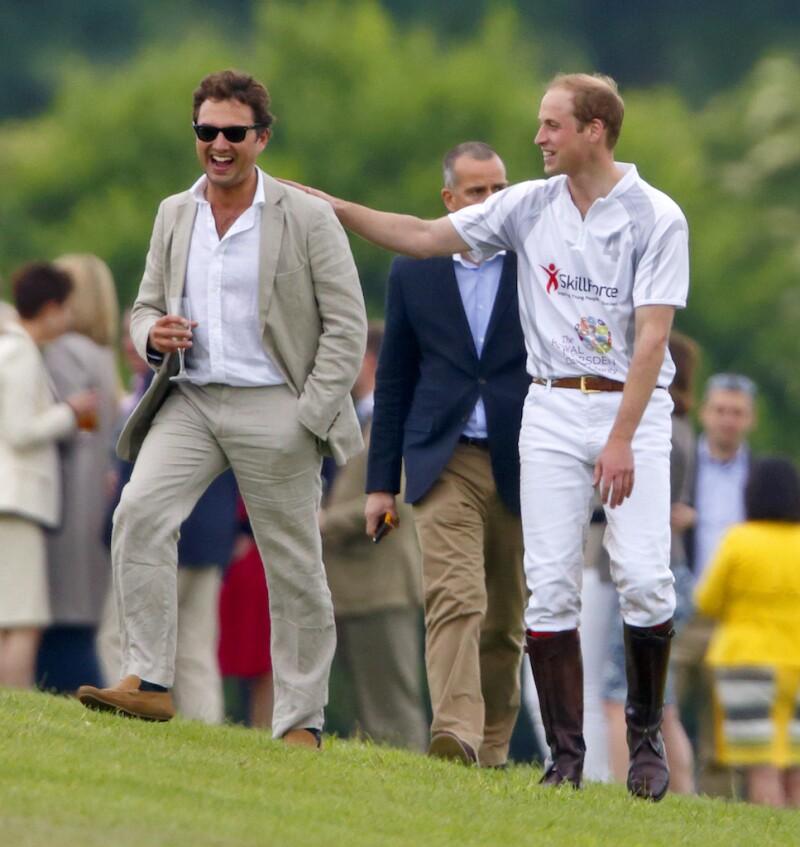 Thomas van Straubenzee y el principe William