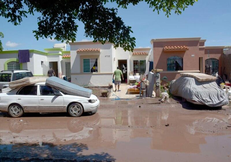 Sinaloa daños
