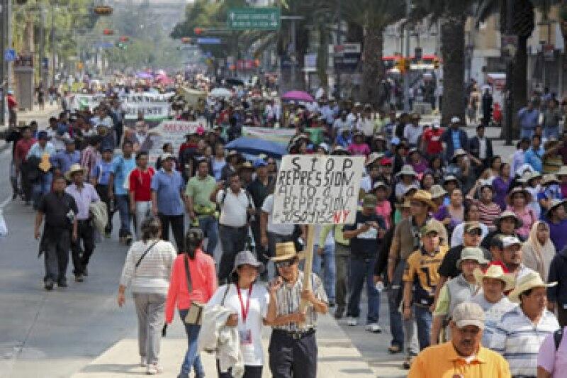 Las negociaciones entre la CNTE y Gobernación deben de ser públicas, dijo la Canacope-Servytur. (Foto: Cuartoscuro)