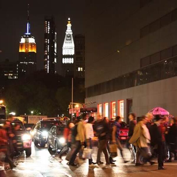 El Empire State vigila los movimientos de ciudadanos y turistas.