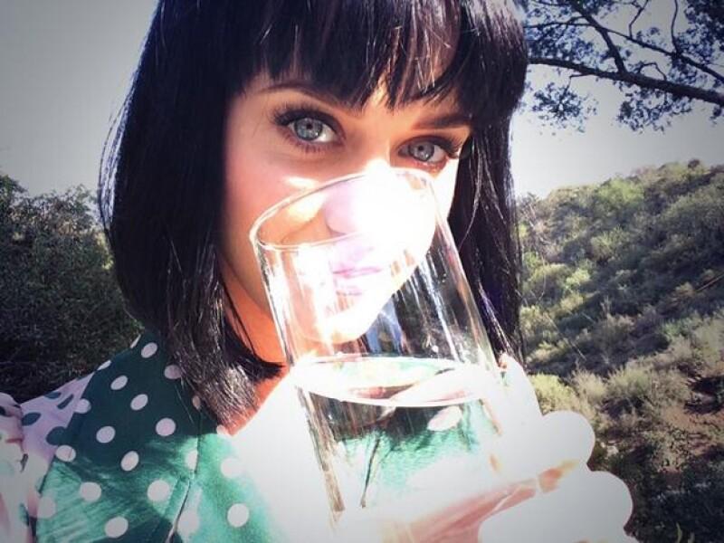 Katy Perry publicó esta imagen en su cuenta de Twitter.