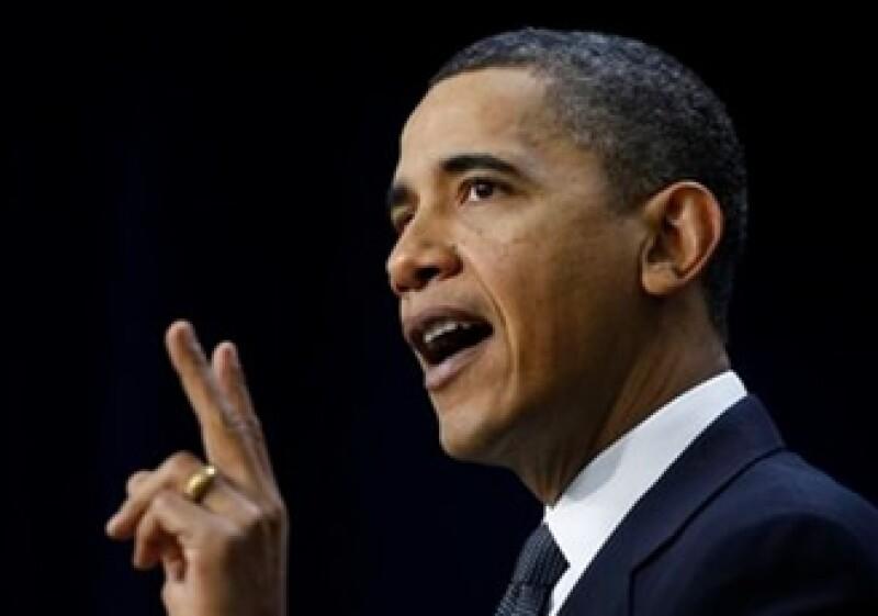 Barack Obama espera combatir el saldo negativo de la balanza fiscal de EU. (Foto: AP)