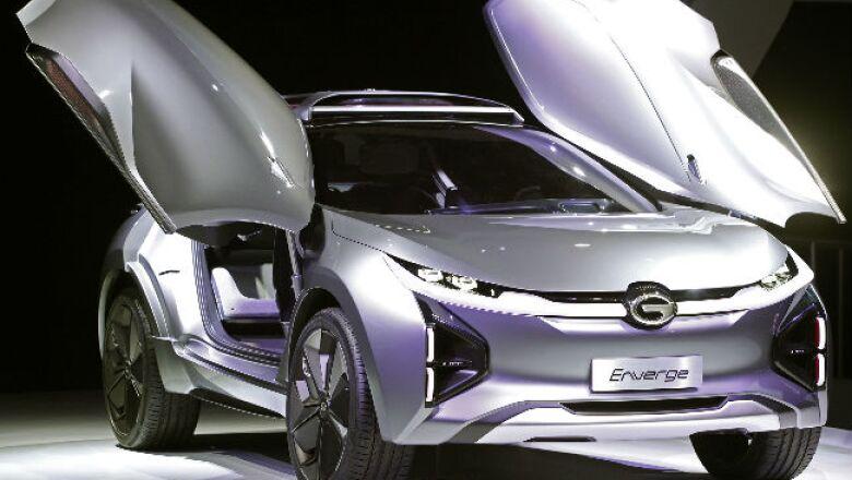 Auto Show Detroit / GAC Motor Enverge el�ctrico