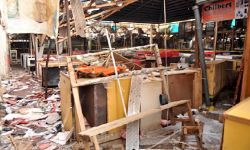 El mercado Farm Centre, en donde dos mujeres se explotaron, matando a unas 14 personas en Nigeria (Foto: Reuters )