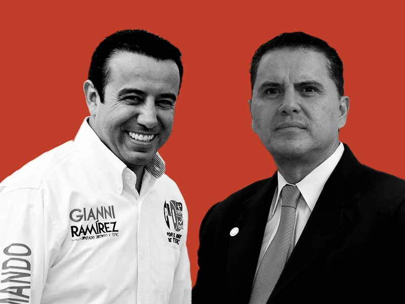 Gianni y Sandoval