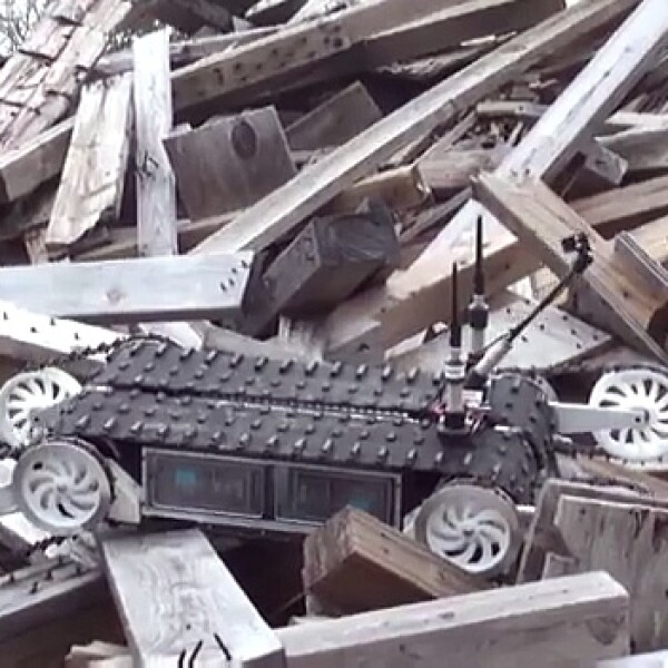 robot rescate