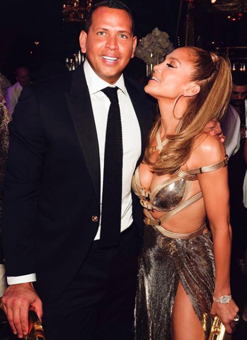 A-Rod y J.Lo