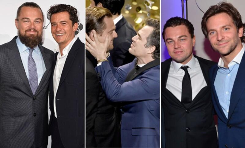 Con los tres lleva una gran amistad.