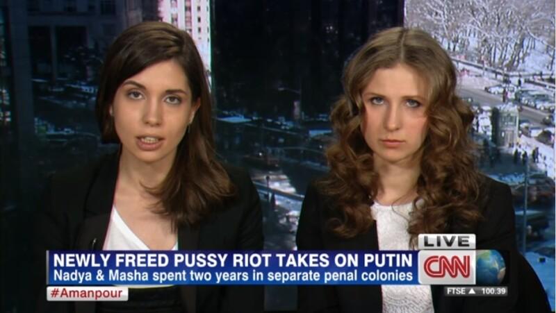 entrevista con las pussy riot desde nueva york