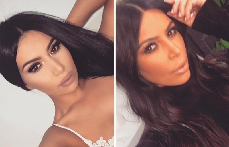 Las poses y las selfies son prácticamente las mismas.