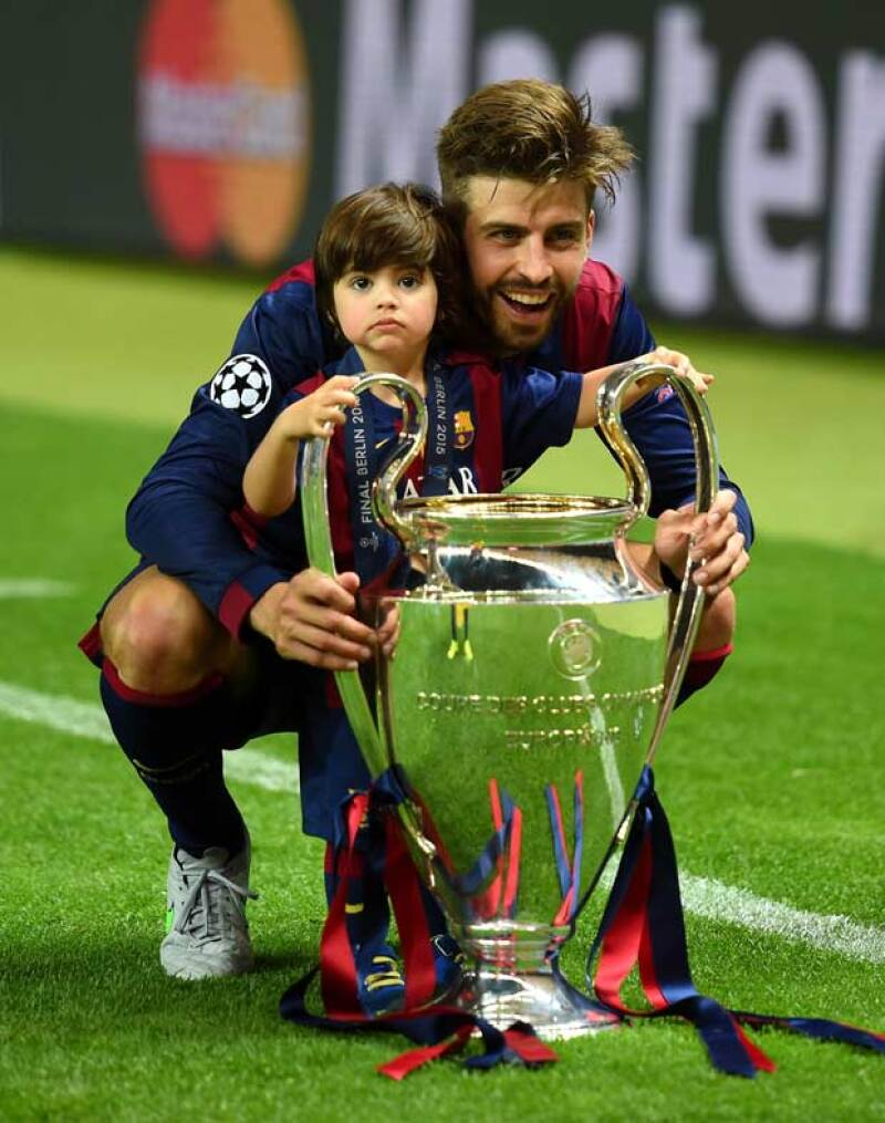 En veces anteriores, Milan ha celebrado con su papá sus victorias, sin embargo, en esta ocasión no fue así.