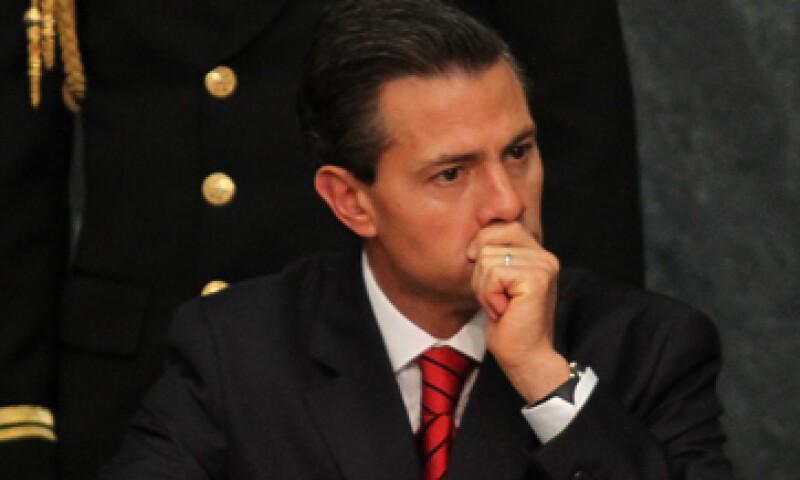 El presidente habló desde la residencia oficial de Los Pinos. (Foto: Cuartoscuro )