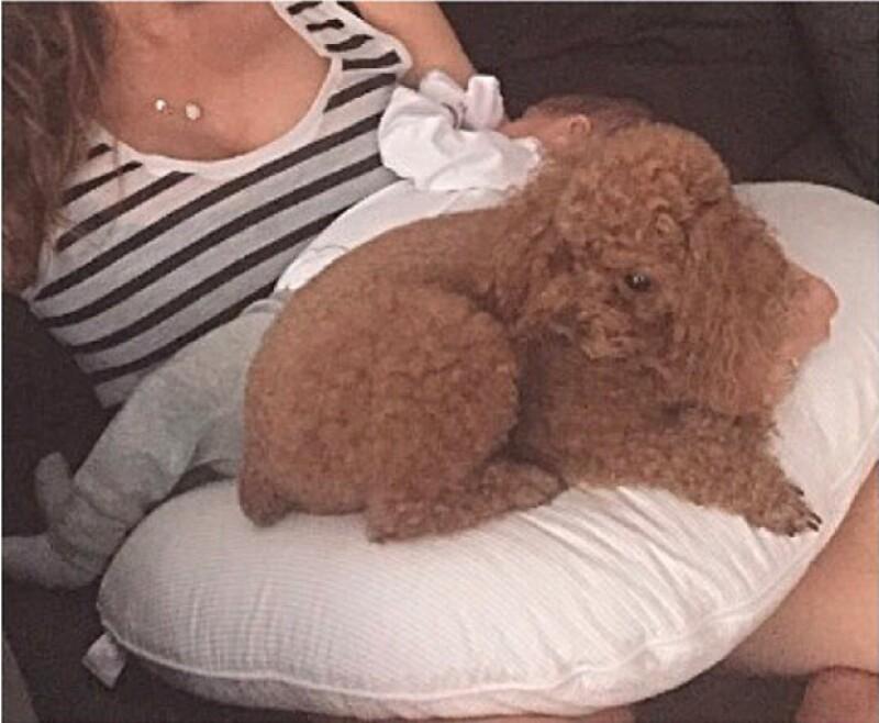 Esta es la primera ocasión en la que Jaydy muestra la cara de su bebé, pues anteriormente solo publicaba partes del cuerpo de Leo.