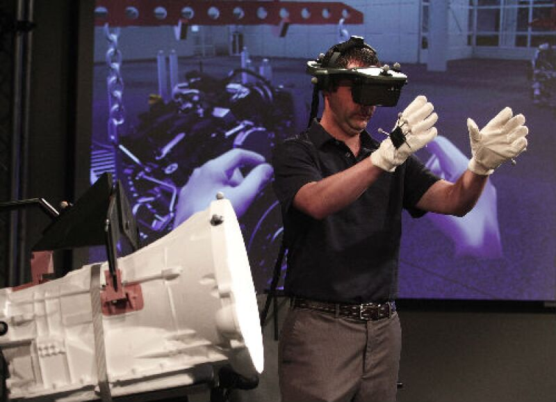 manufactura con realidad virtual