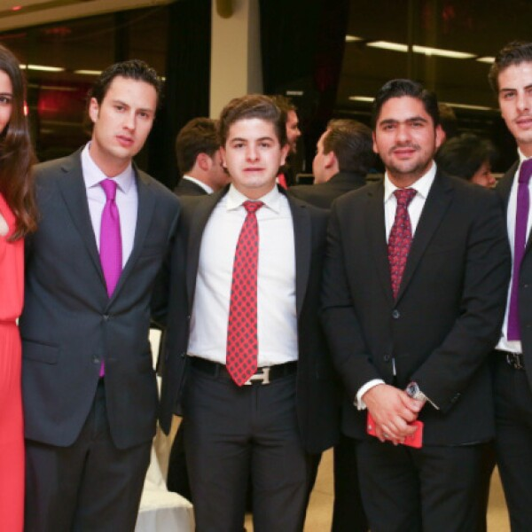 Fernanda Said, Mariano Simón, Ramiro Giménez, Jonathan Plascencia y Gerardo Said