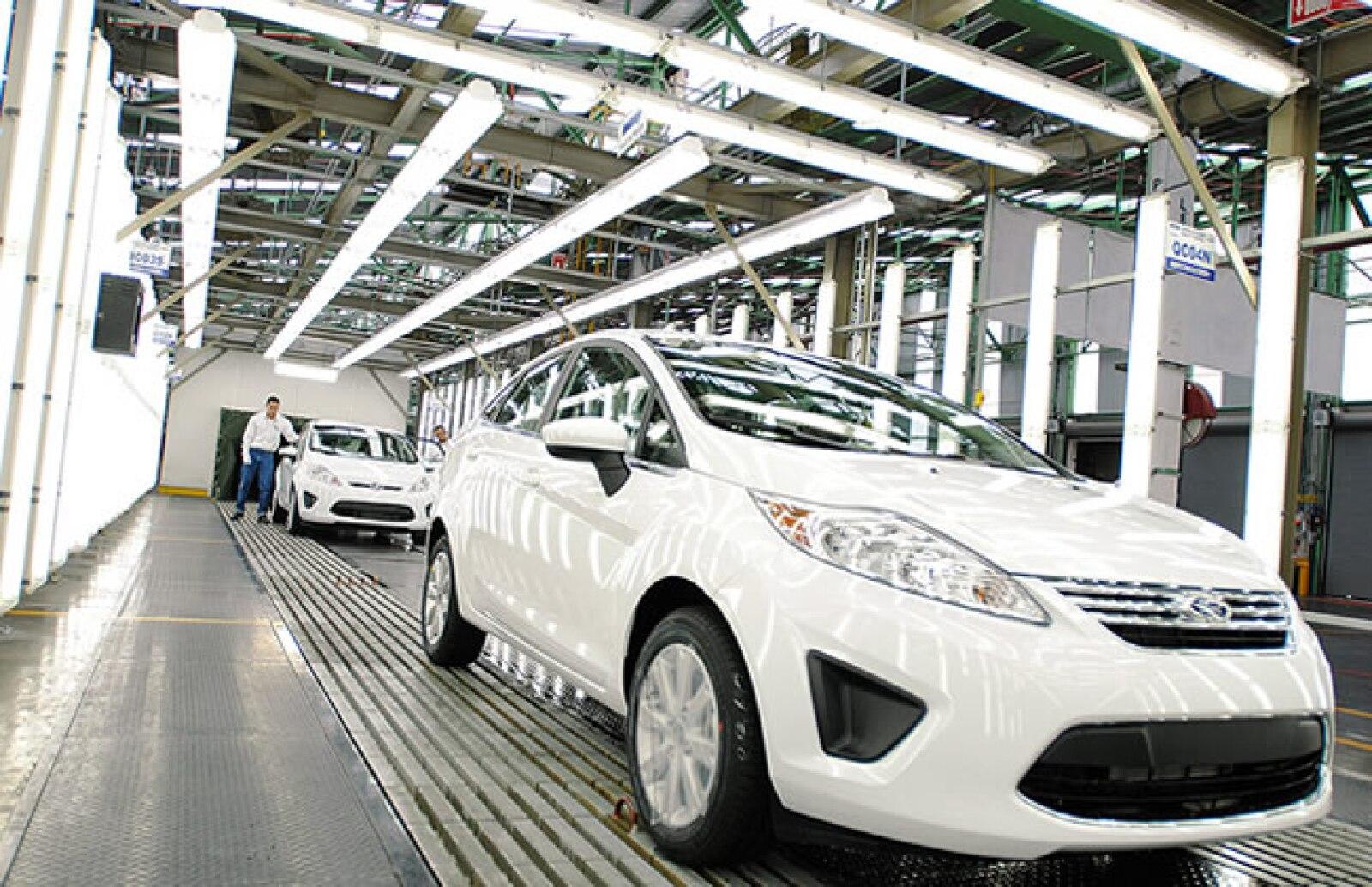 La planta tiene capacidad para ensamblar 324 mil unidades por a�o.