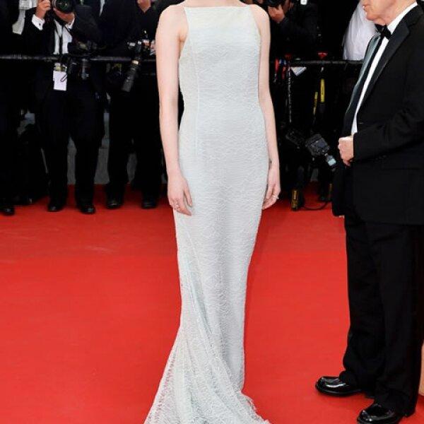 Emma Stone in Christian Dior Couture para la presentación de Irrational Man.