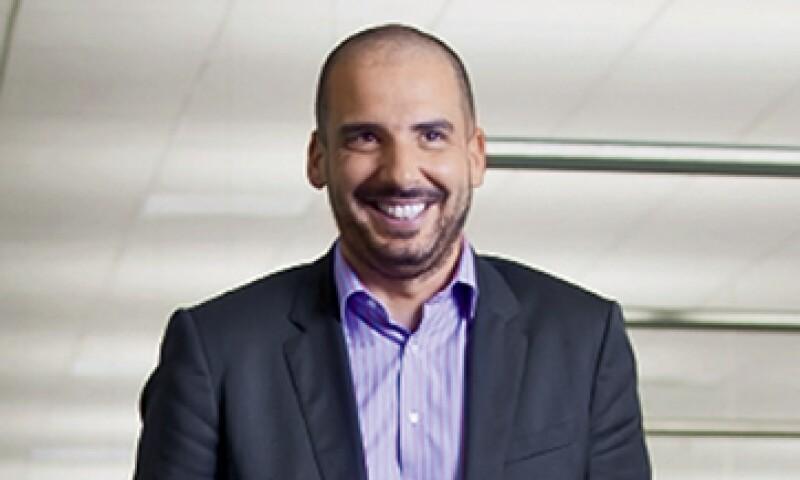 Cédric Retailleau, CEO de Pernod Ricard México dice que su imagen está lejos del aburrimiento. (Foto: Gilberto Contreras)