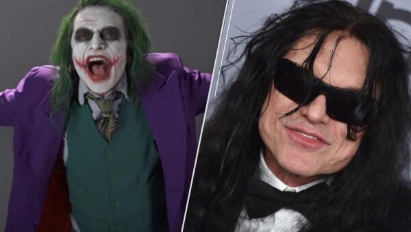 Tommy Wiseau audiciona para interpretar a The Joker