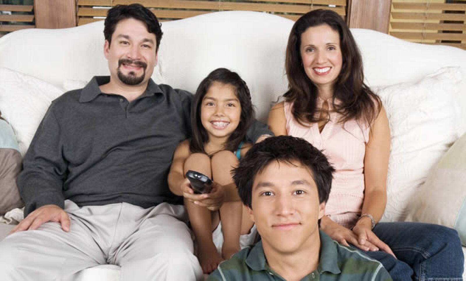 El 97% de los hogares hispanos en Estados Unidos ve programación de Univisión.