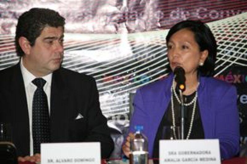 La gobernadora de Zacatecas, Amalia García, señaló que esperan a unas seis mil personas al concierto.