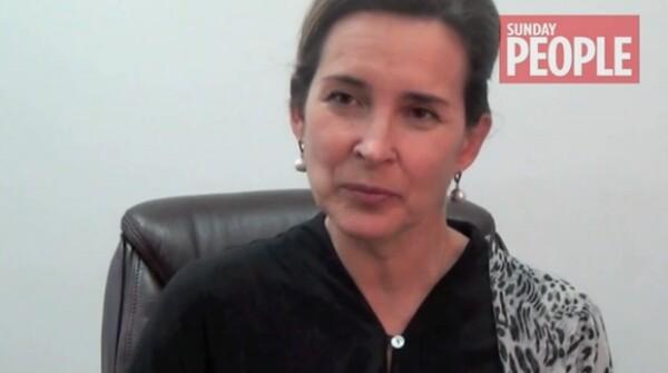 Tatiana Voziouk habló para Sunday People de The Mirror sobre lo que vio durante el tiempo que trabajó en la casa del joven de 19 años.