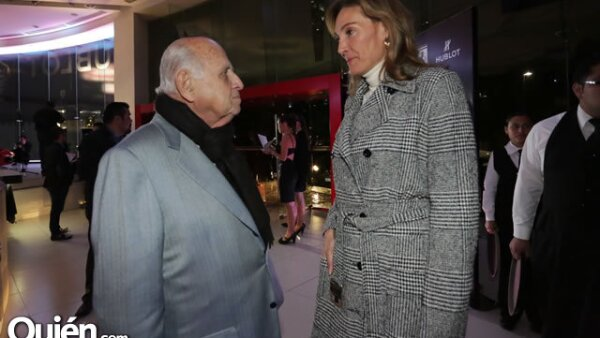 Mauricio Berger,Alejandra Alemán